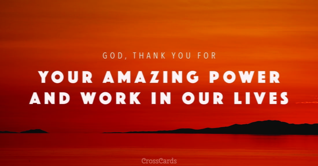 Free christian ecards and online greeting cards to send by email gods power m4hsunfo Images