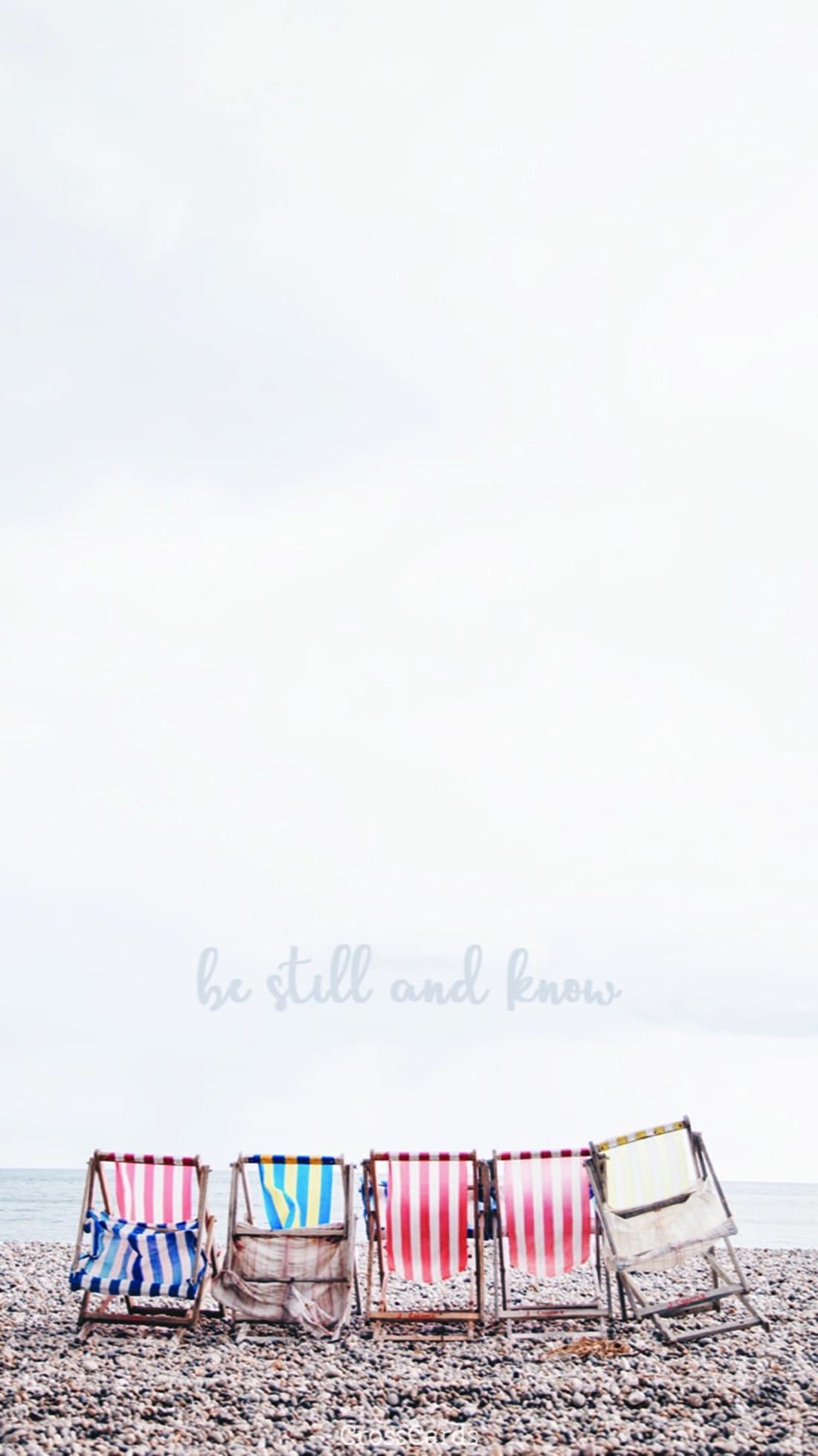 Be Still mobile phone wallpaper