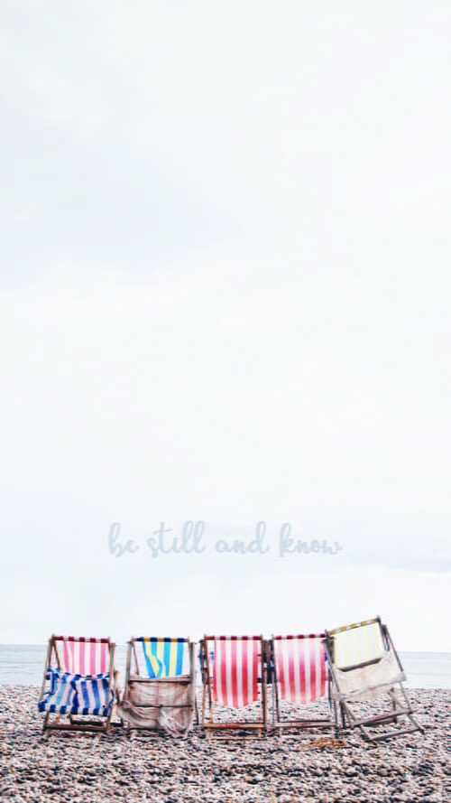 Be Still ecard, online card