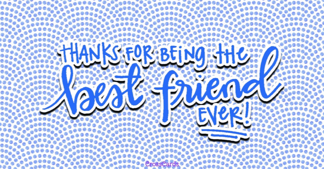 Best Friend Ever ecard, online card