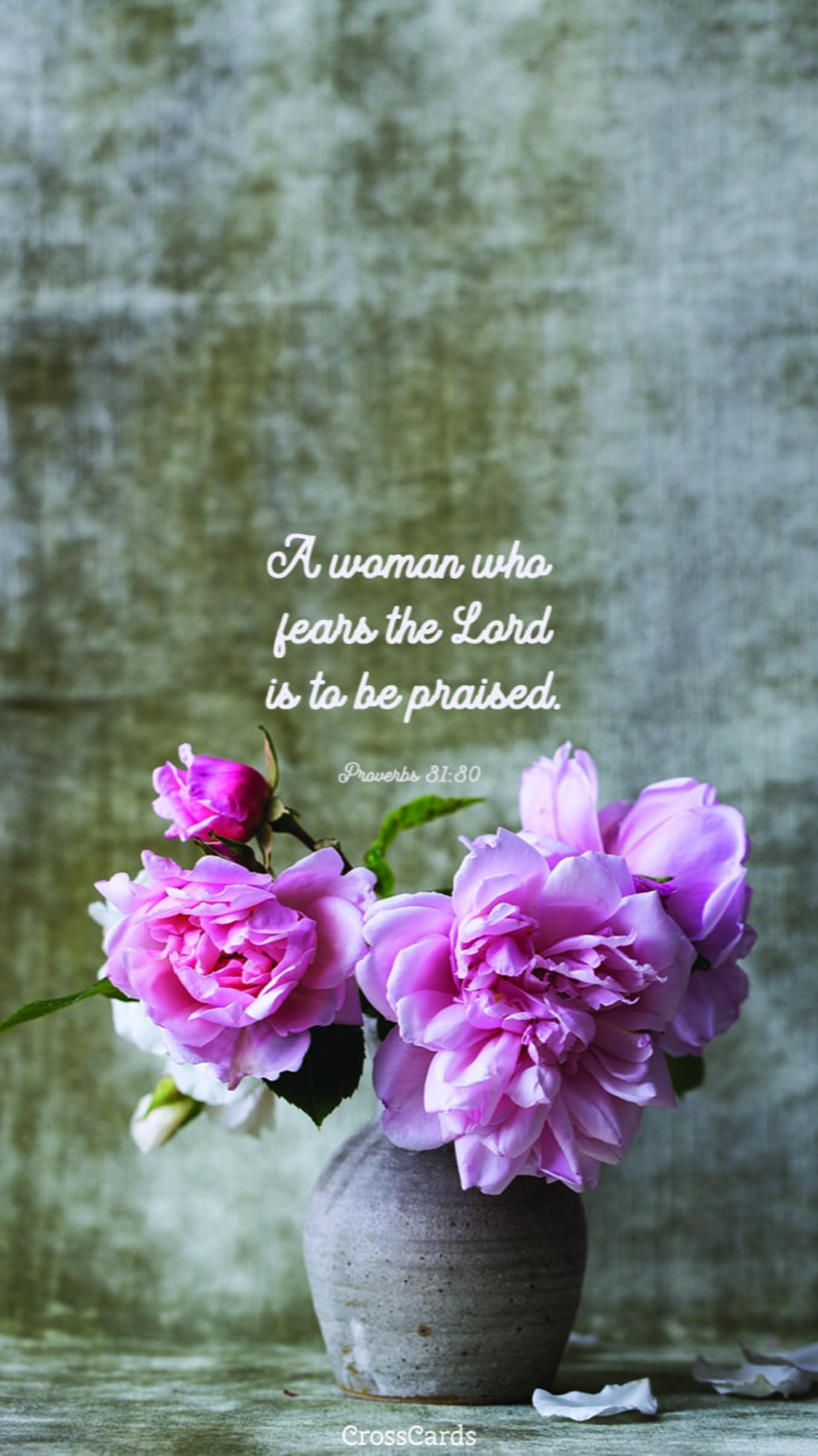 Proverbs 31:30 mobile phone wallpaper