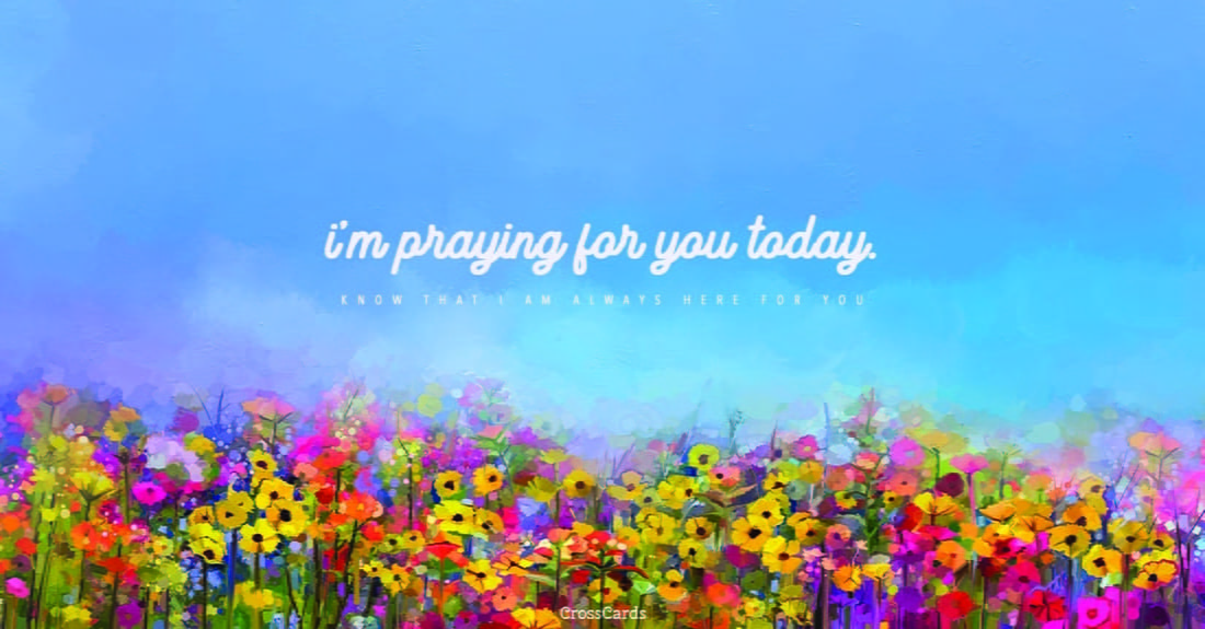 I'm Praying for You Today ecard, online card