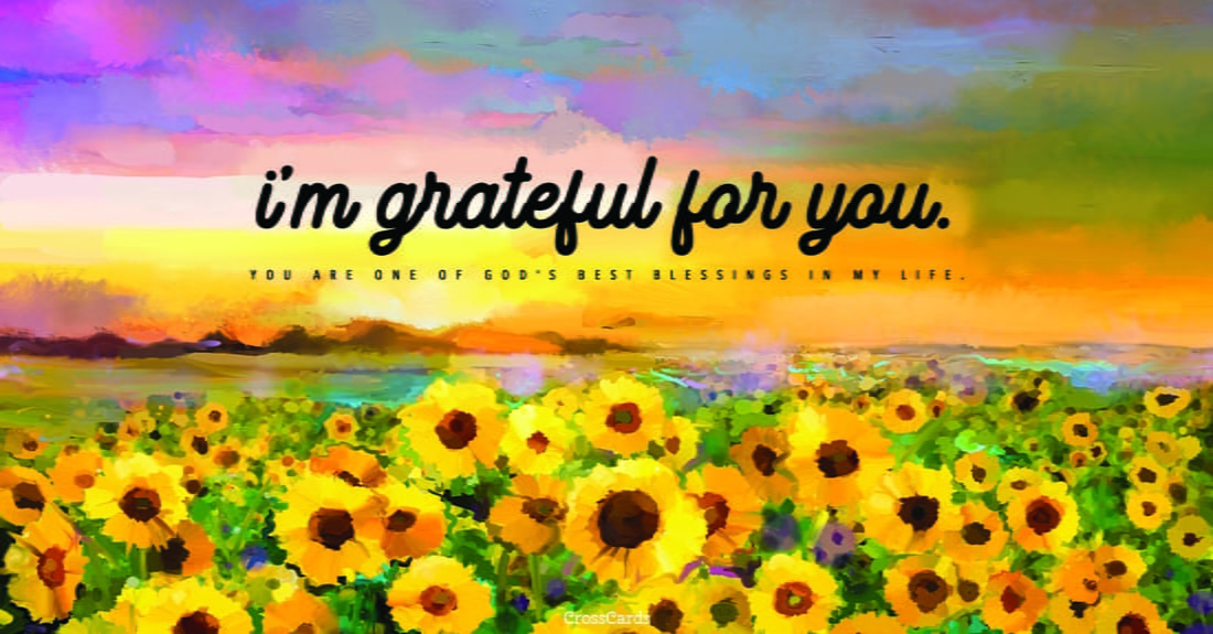 I'm Grateful for You ecard, online card