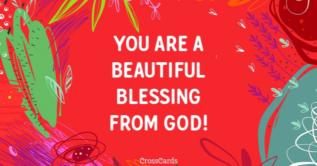 You are a Beautiful Blessing ecard, online card