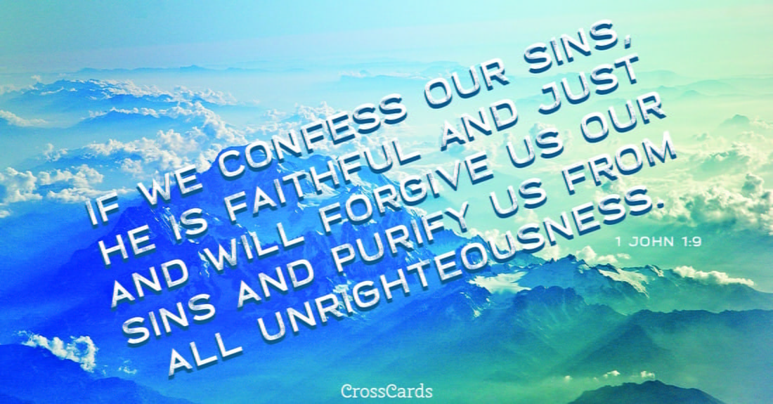 1 John 1:9 ecard, online card