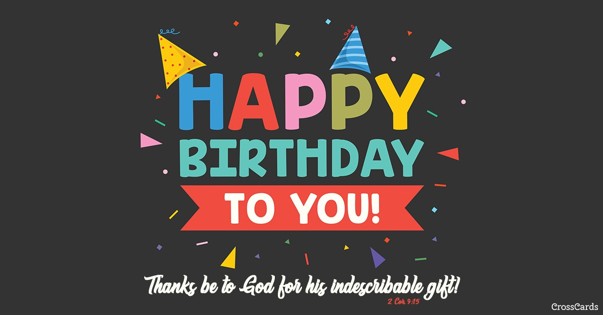 Happy Birthday To You Ecard Online Card