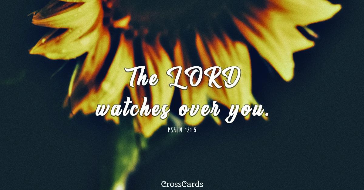 Psalm 121:5 ecard, online card