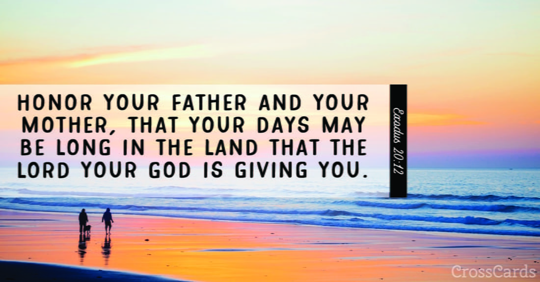 Exodus 20:12 ecard, online card