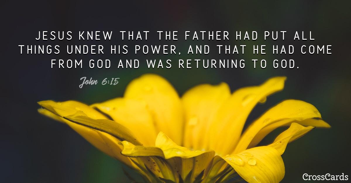 John 6:15 ecard, online card