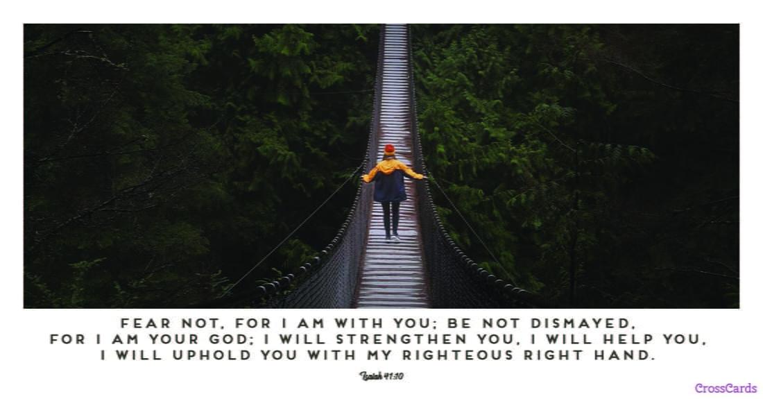 Isaiah 41:10 ecard, online card