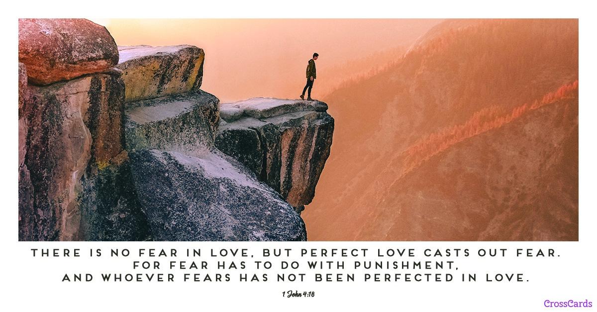 1 John 4:18 ecard, online card