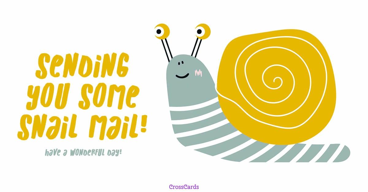 Snail Mail ecard, online card