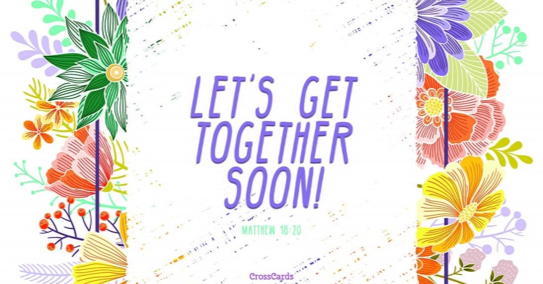 Get Together ecard, online card