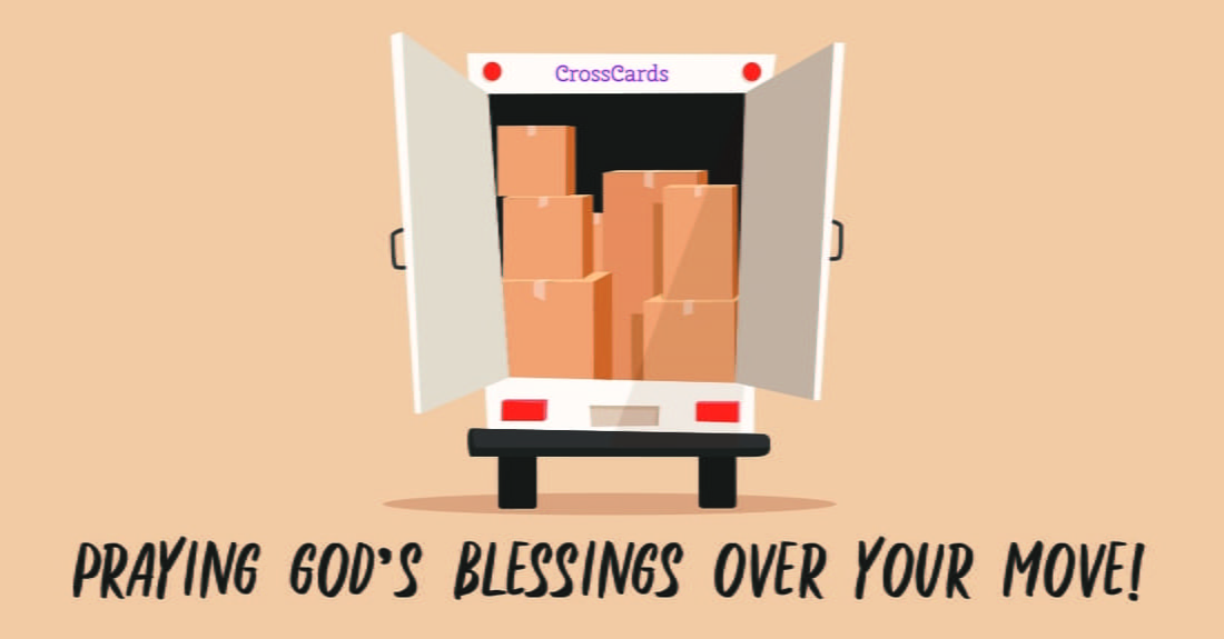 Moving Blessings ecard, online card