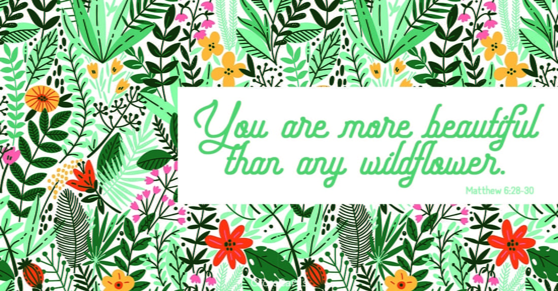 Wildflower ecard, online card