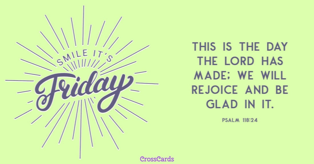 Smile, It's Friday ecard, online card