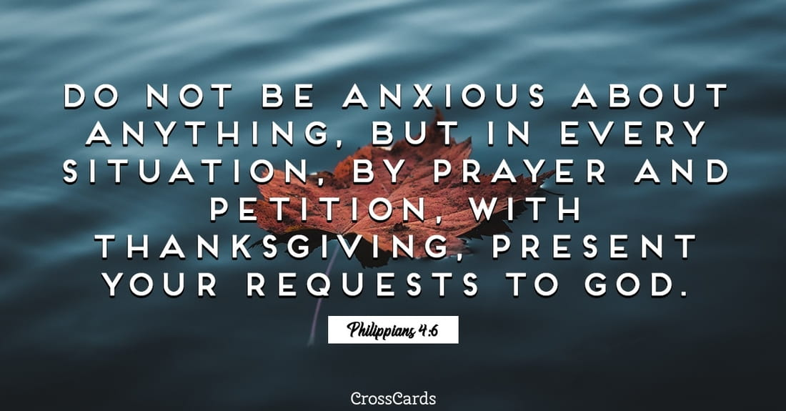 Philippians 4:6 ecard, online card