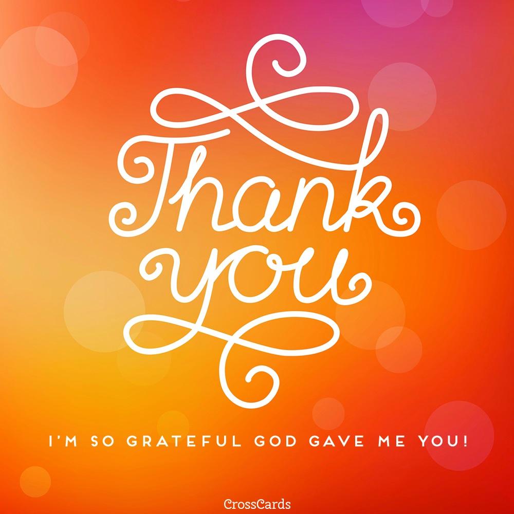 Thank You! ecard, online card