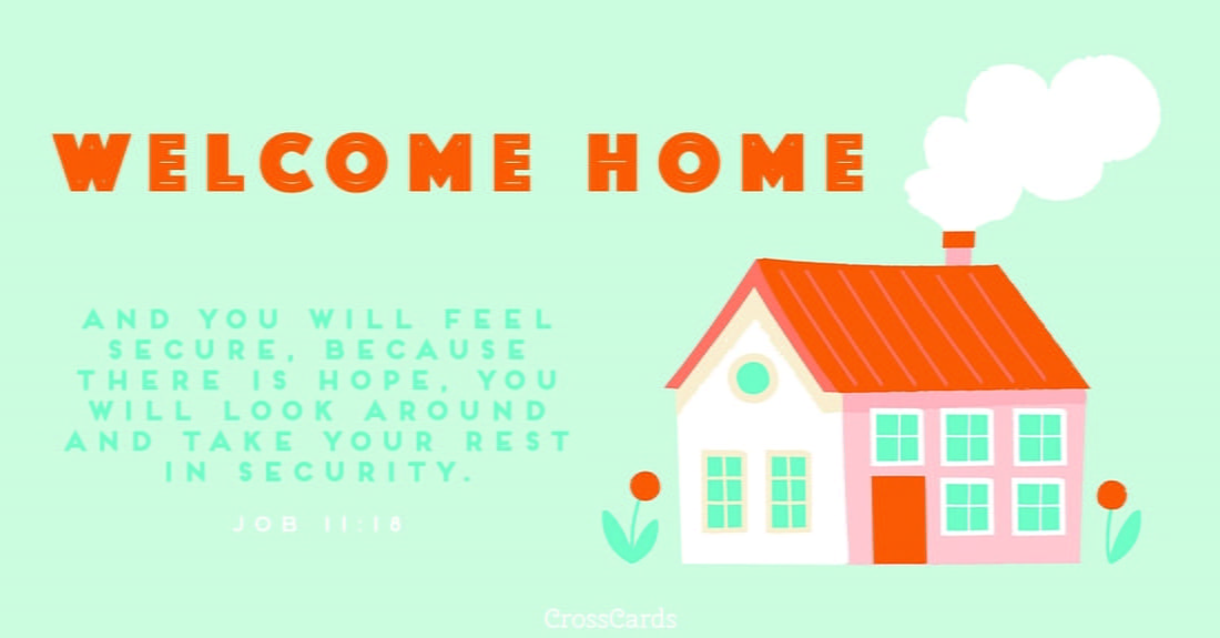 Welcome Home ecard, online card