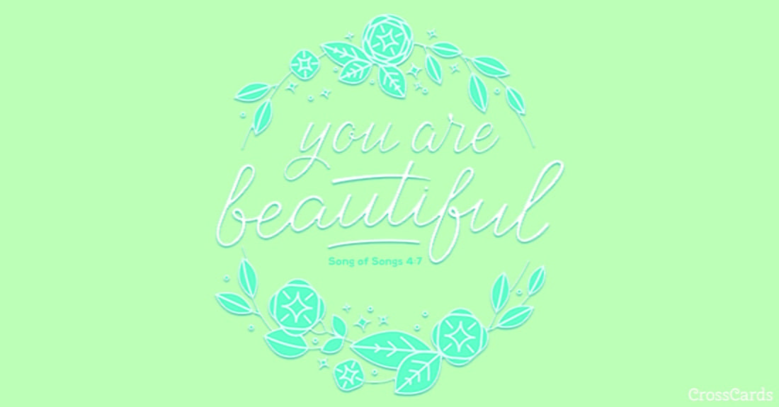You are Beautiful ecard, online card
