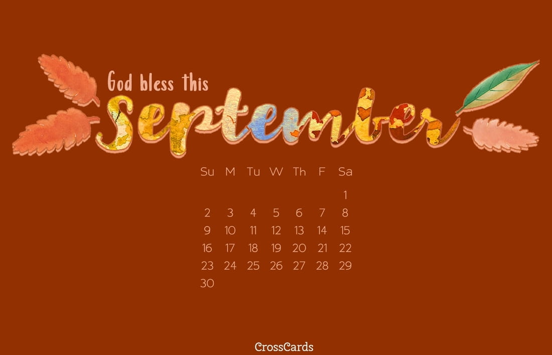 September 2018 - God Bless ecard, online card