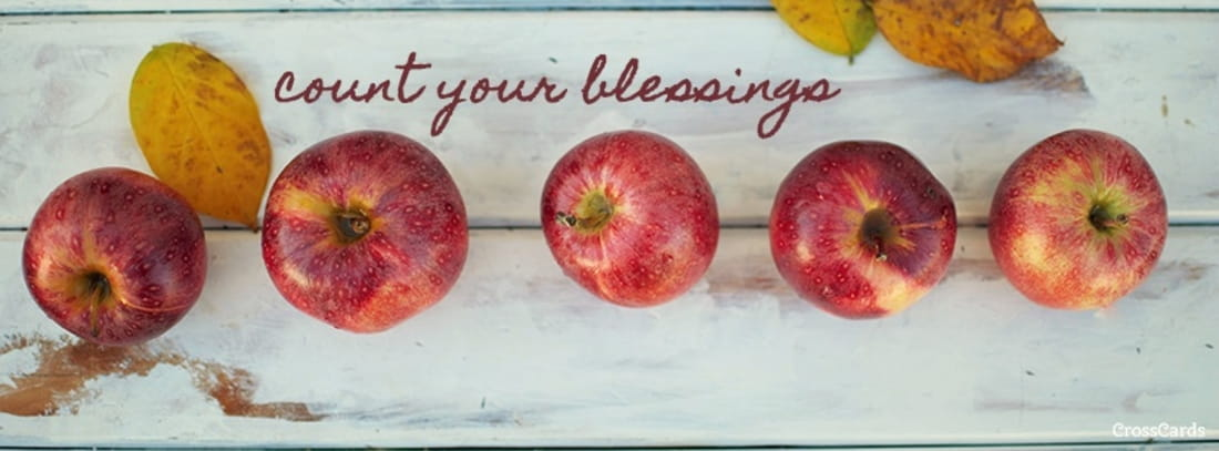 Count Your Blessings ecard, online card