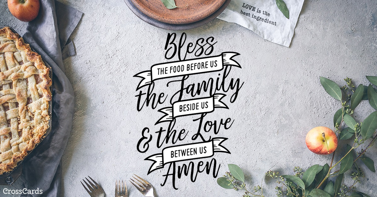 Blessing ecard, online card