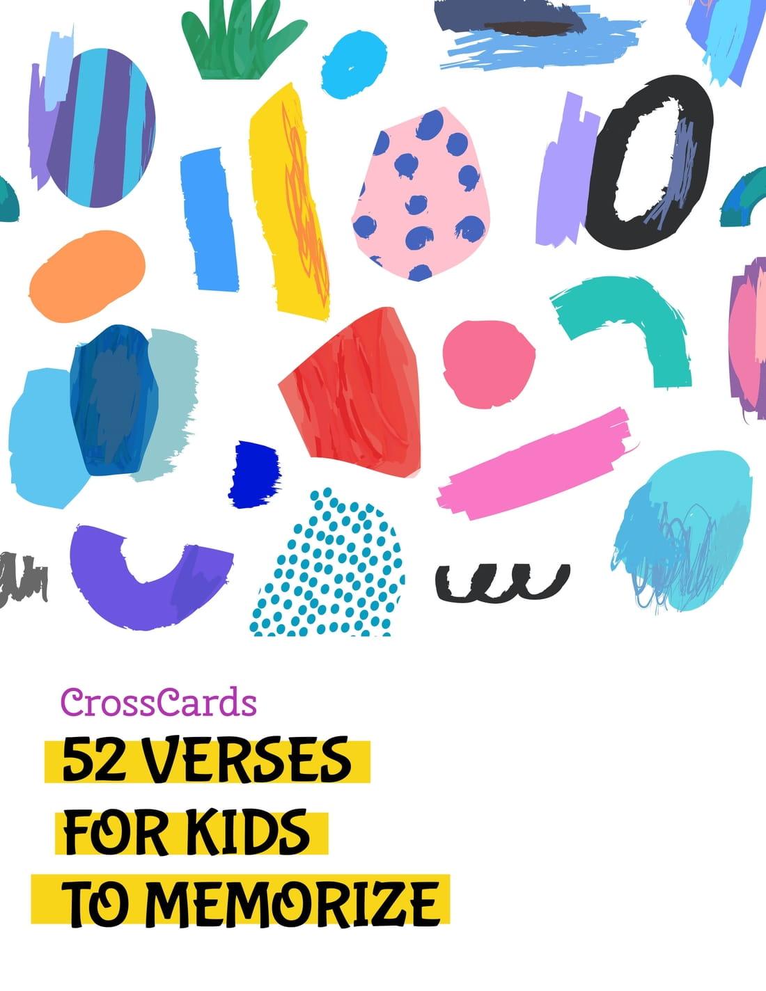 52 Verses for Kids to Memorize