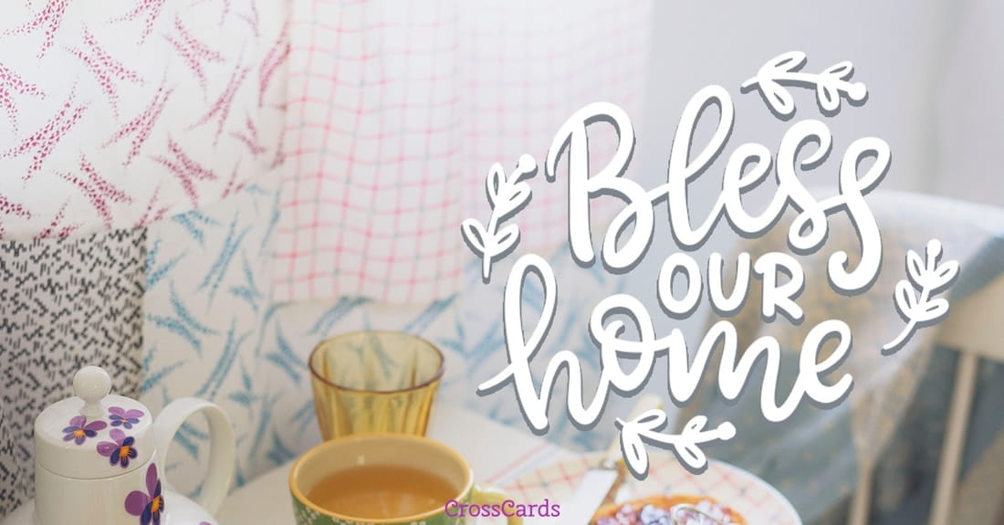 Bless Our Home ecard, online card