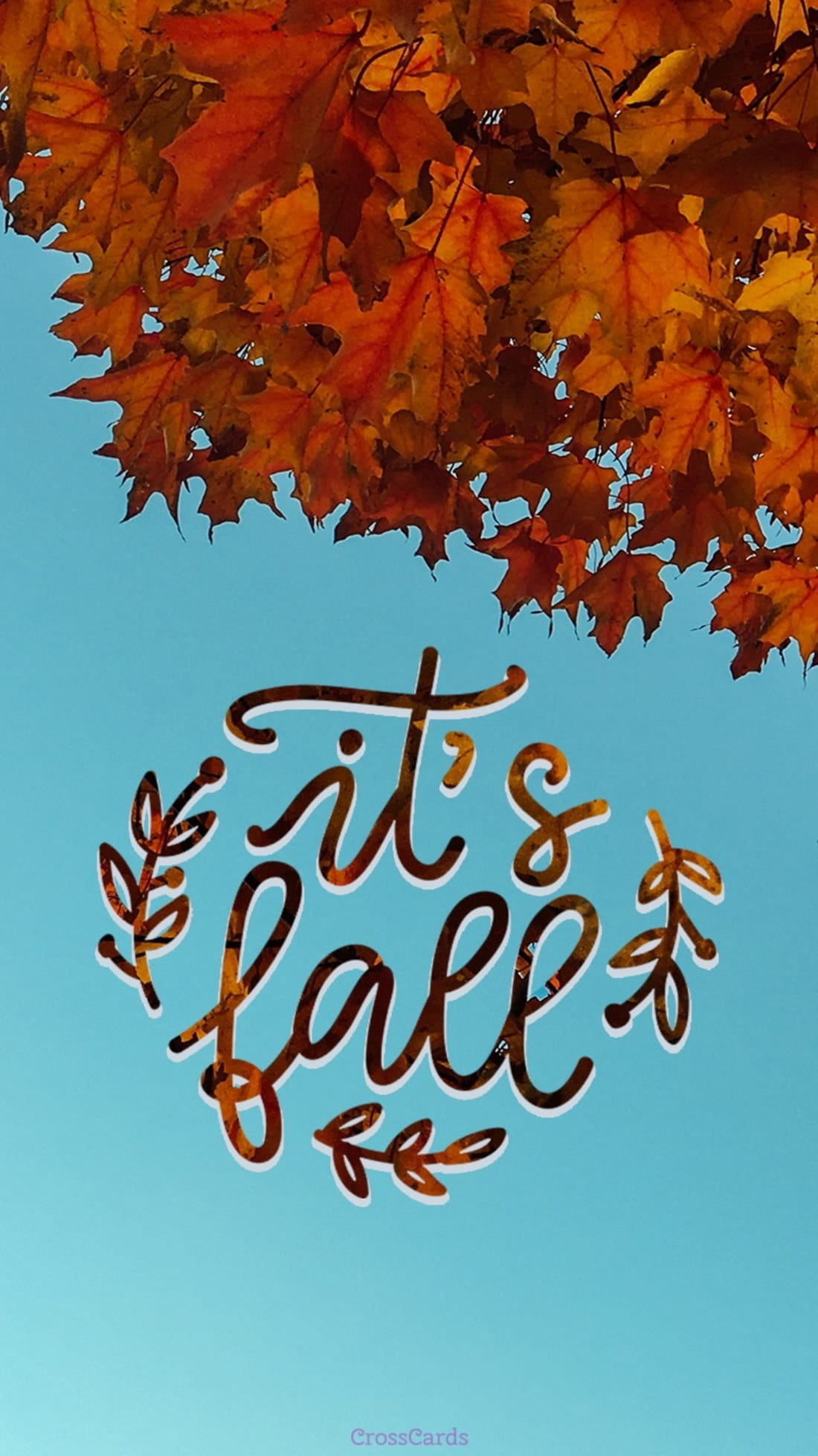 It's Fall ecard, online card