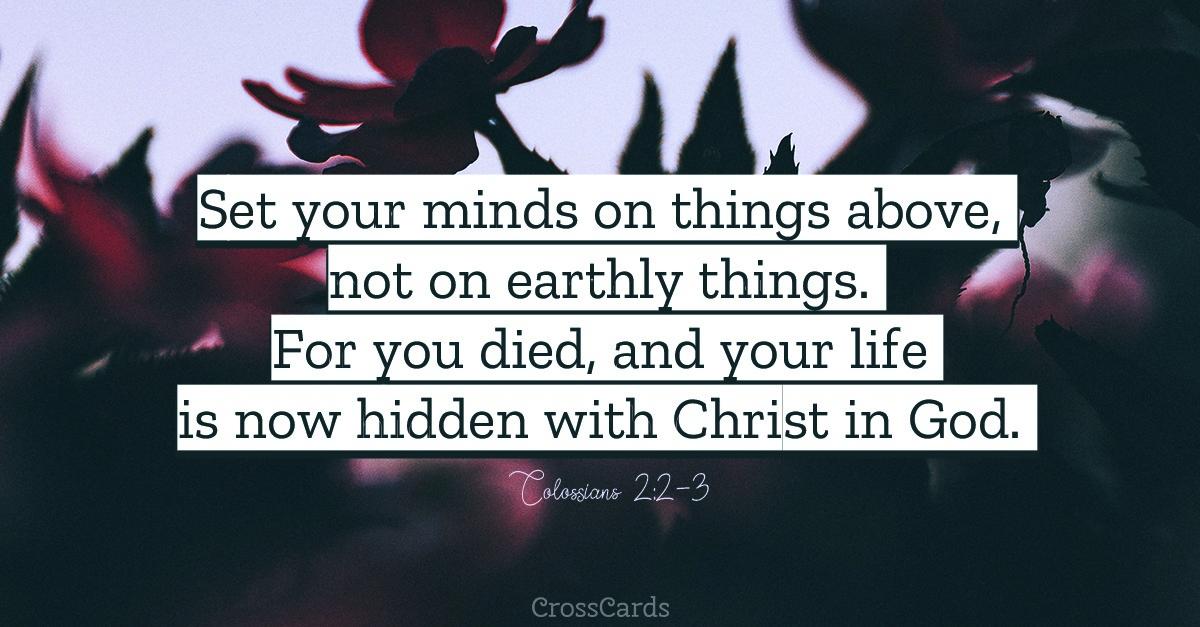 Colossians 2:2-3 ecard, online card