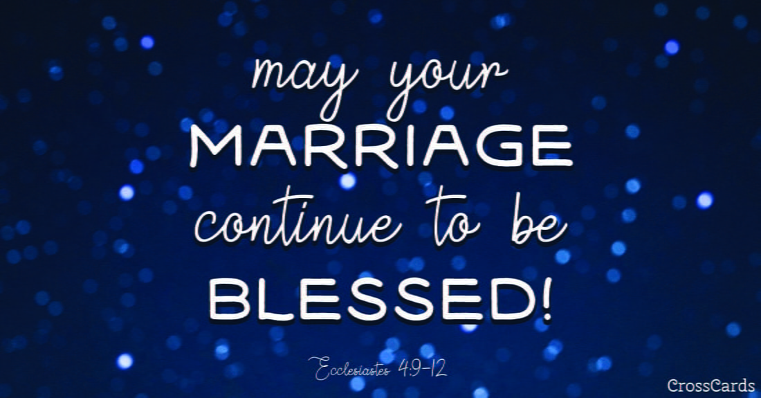 Blessed Marriage Ecard Online Card