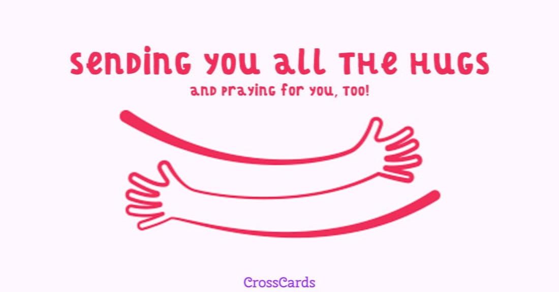 Hugs ecard, online card