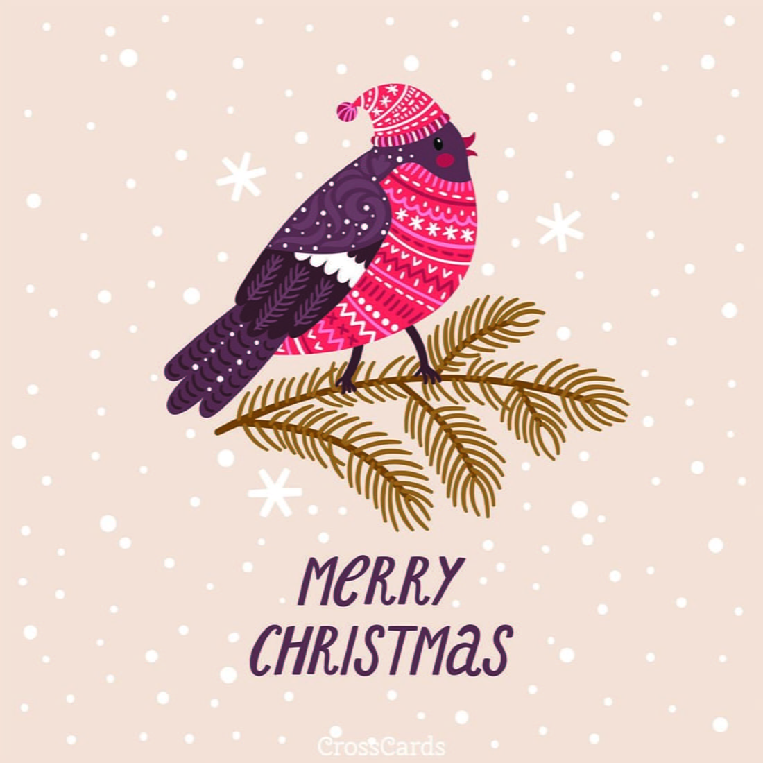 Merry Christmas Ecard Online Card