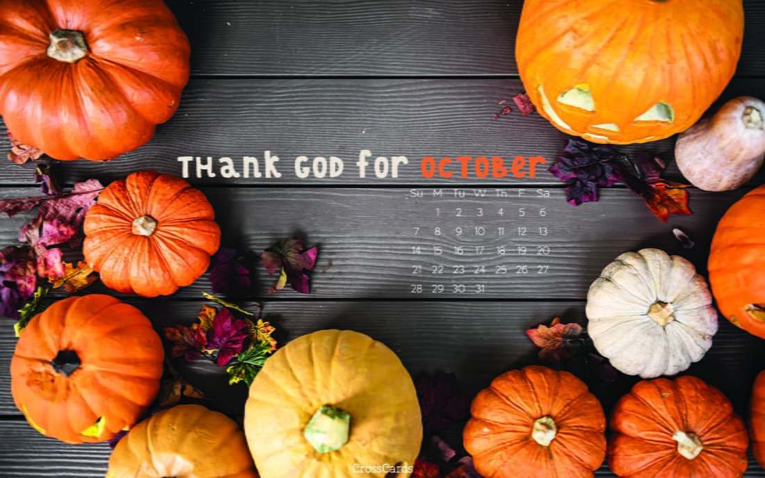 October 2018 - Thank God ecard, online card