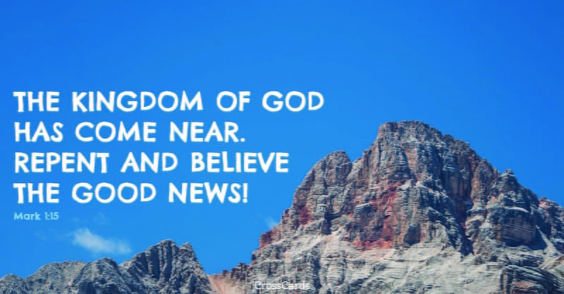 Mark 1 1 >> Mark 1 1 Niv Bible The Beginning Of The Good News About