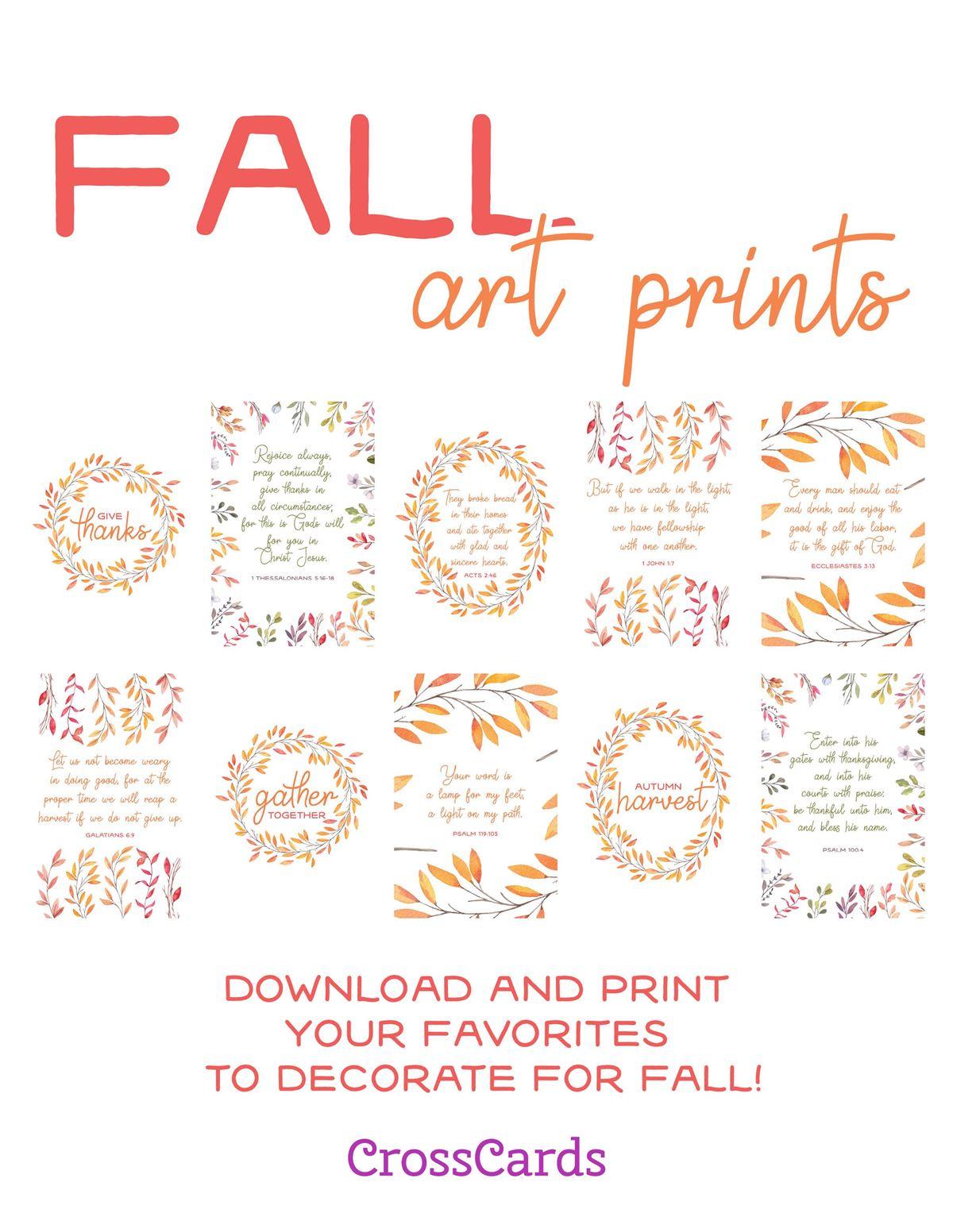 Fall Art Prints