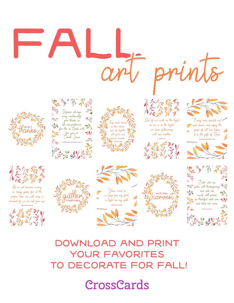 Fall Art Prints