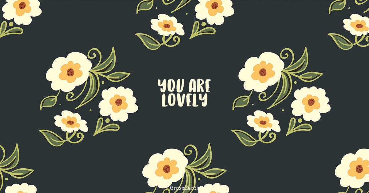 Lovely ecard, online card