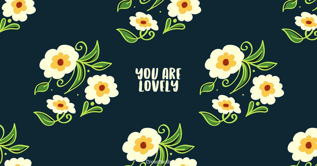 Lovely ecard, online card