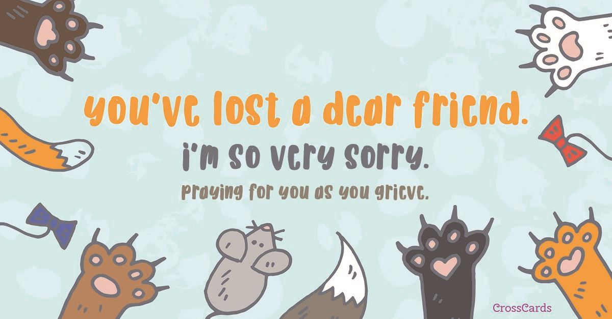 Dear Friend ecard, online card