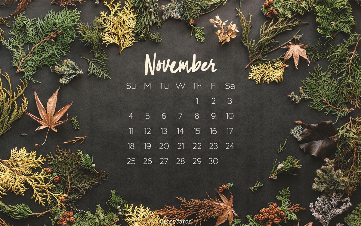 November 2018 - Autumn ecard, online card