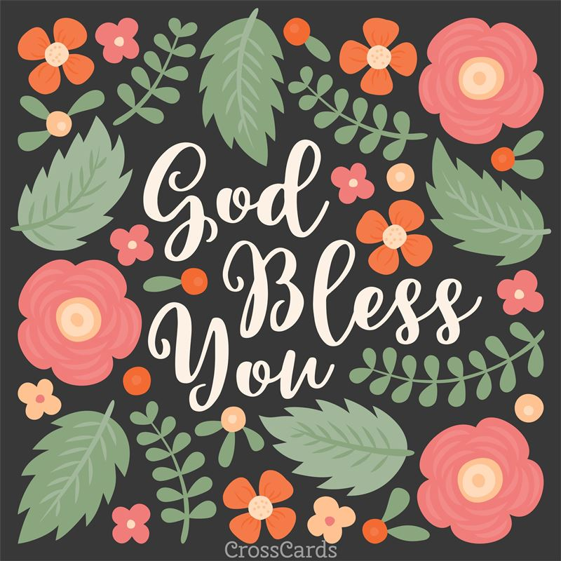 God Bless You Ecard Free Postcards Greeting Cards Online