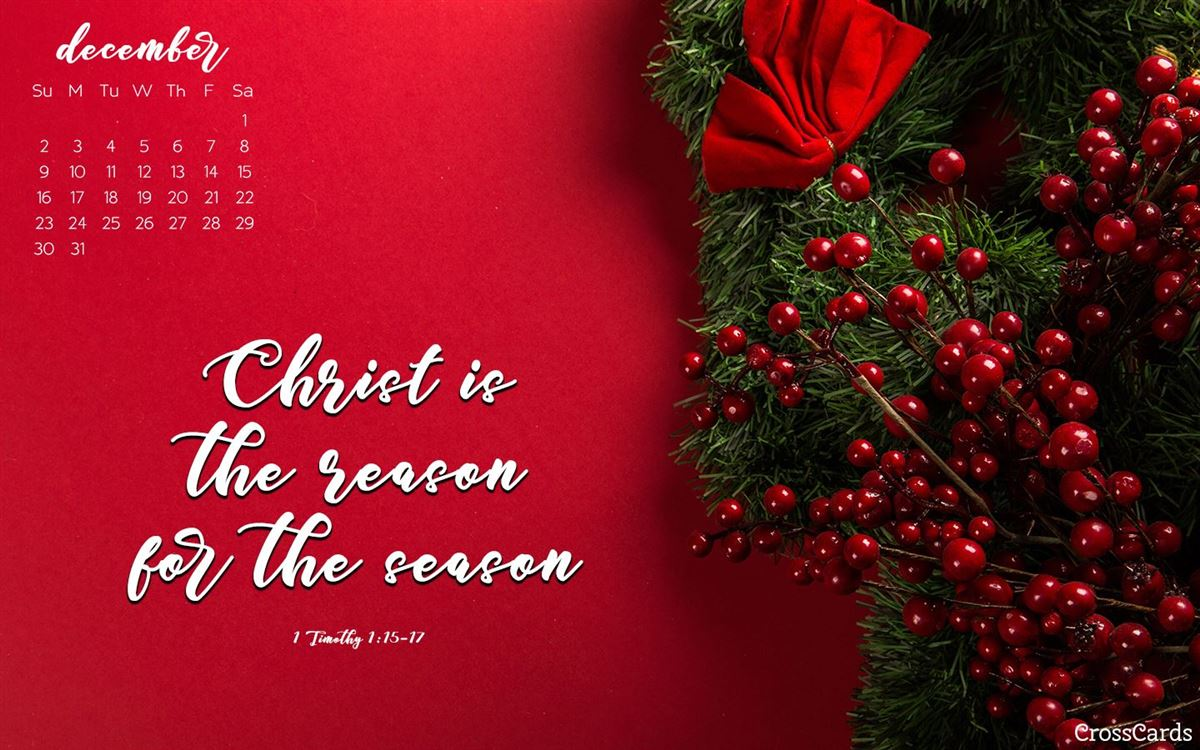 December 2018 - Reason for the Season ecard, online card