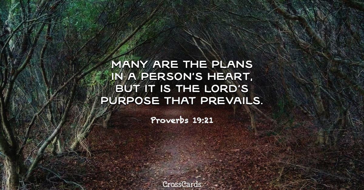 Proverbs 19:21 ecard, online card