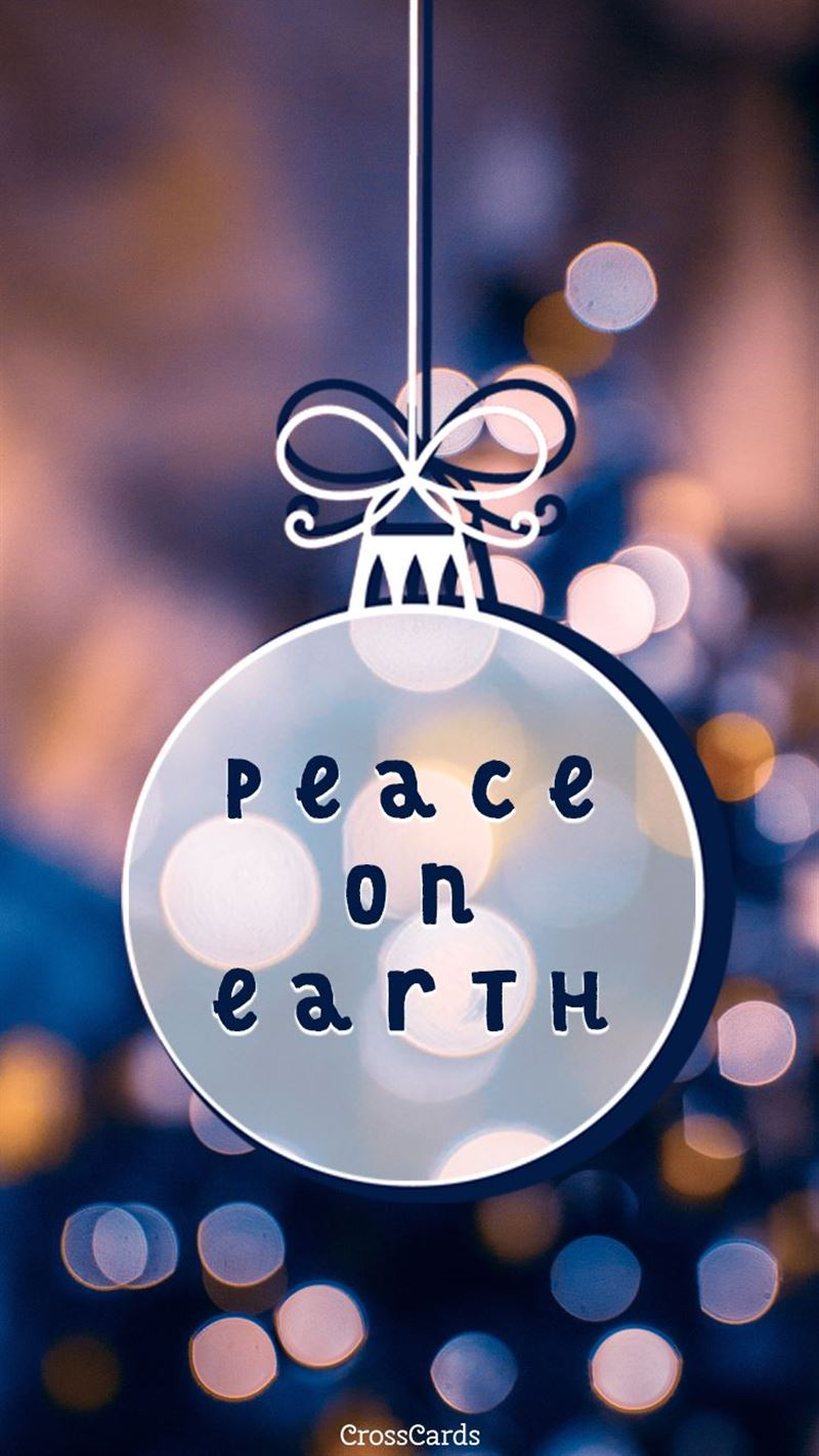 Peace on Earth mobile phone wallpaper