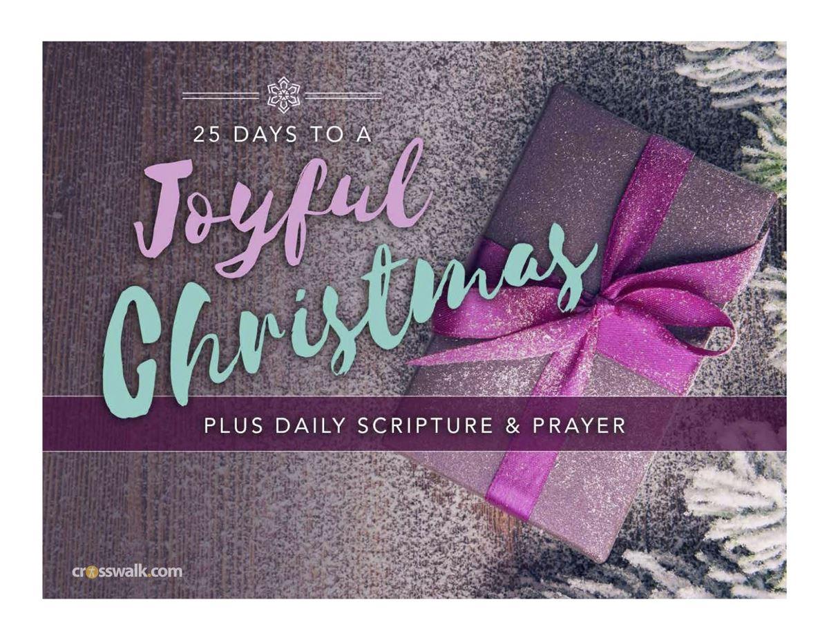 25 Days to a Joyful Christmas