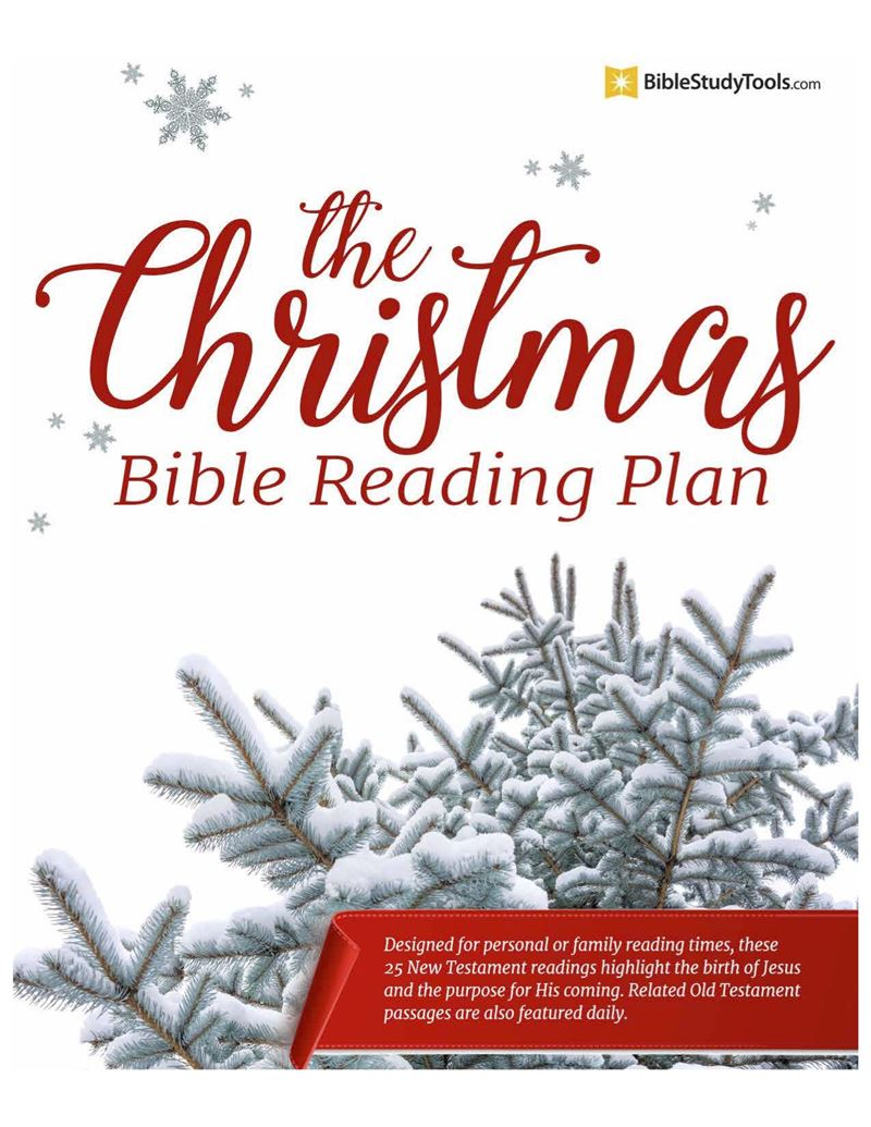 The Christmas Bible Reading Plan Printable - Download Free