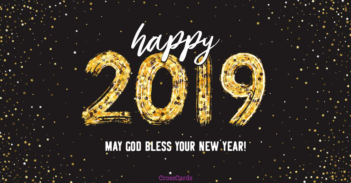 Happy 2019 ecard, online card
