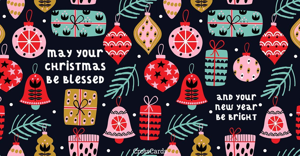 Blessed and Bright ecard, online card